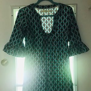 Tracy Negoshian Dress Sz. Large Multi~Color